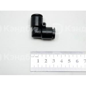 Фитинг угловой цанговый (угол 90 градусов, трубка-трубка, 10-10 мм)