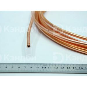 Труба медная отожженная, 6 мм