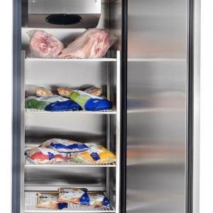 Шкаф холодильный с глухой дверью Чувашторгтехника ШХС-0,5-01 710000002411 (нержавеющая сталь)