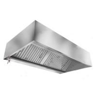 Зонт в форме короба вытяжной пристененный Техно-ТТ МВО-0,5МСВ-0,7ПК