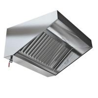 Зонт в форме короба вытяжной пристененный Техно-ТТ МВО-0,5МСВ-0,6ПК