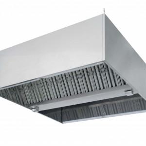 Зонт в форме короба вытяжной пристененный Техно-ТТ МВО-0,6МСВ-1,3ПК