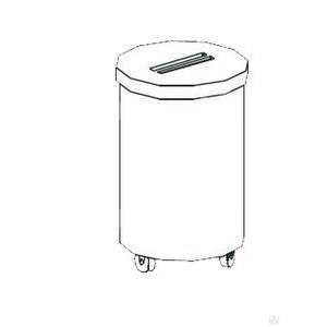 Тележка для мусора Apach Chef Line LWB75