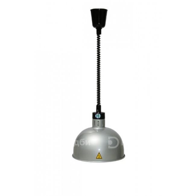 Лампа инфракрасная Hurakan HKN-DL750 (серебряная)