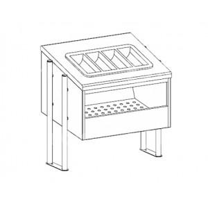 Диспенсер для хлеба и приборов Apach Chef Line LDBC76