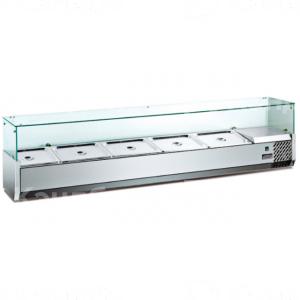 Витрина Hurakan HKN-VRX1500/380