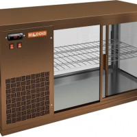 Витрина Hicold VRL 1100 L BROWN