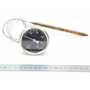 Термометр аналоговый пицца печи GAM (60 мм, 0-500 градусов, 900 мм)
