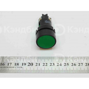 Кнопка зеленая (SВ-7, NC или NO, без фиксации)
