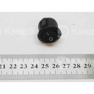 Выключатель клавишный круглый (MIRS-201)