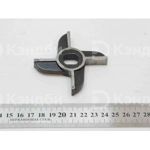 Нож двусторонний без бурта для мясорубки МИМ-300