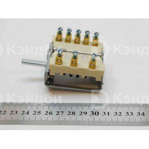Переключатель теплового оборудования EGO 0 - 6 позиционный (16 A, 230 В, 150 градусов)