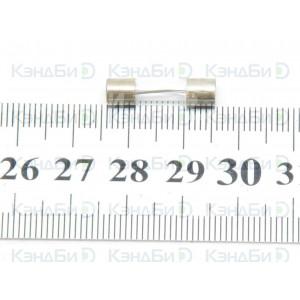 Вставка плавкая (предохранитель) Н520Б (16 А, 250 В, 5x20 мм)