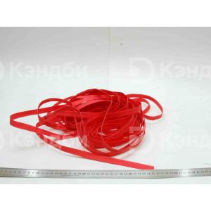 Трубка термоусаживаемая ТУТ (8/4 мм, красная, -40 до 105 градусов)