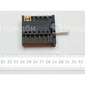 Переключатель теплового оборудования 0-6 позиционный ПМЭ 27-2375 П (ПМ-7 856, 16 А, 250 В)