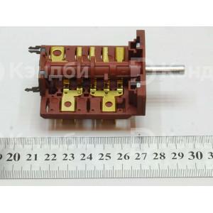 Переключатель электрической плиты  Новоя Вятка, Электра (ПМ-3 с креплением под термостат, 16А, 250В)