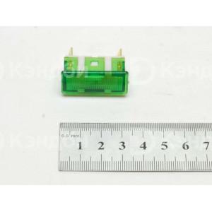 Лампочка индикации теплового оборудования Гомельторгмаш, Торгмаш Бар (АС-1404, 7x30 мм, 220 В)