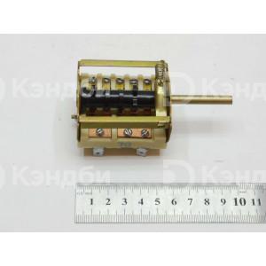 Переключатель электрической плиты Электра, Нововятка 6+0 позиционный (ПМ-7, 16 А, 250 В)