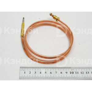Термоэлемент (термопара) газ-контроля конфортки Angelo Po SIT M9x1 (1500мм, наконечник 6.5 мм)