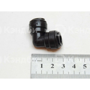 Фитинг угловой трубка-трубка (угол 90 градусов, 8-8 мм)