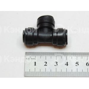 Фитинг тройник Т-образный цанговый 8 мм - ?8 мм