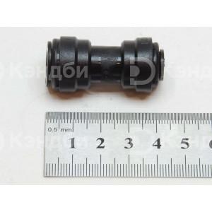 Фитинг прямой переходник цанговый ?10 мм - ?8 мм