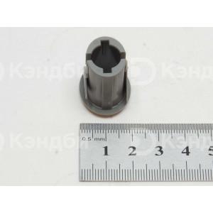 Накладка кнопочного выключателя посудомоечной машины Bertos, Foinox, Silanos (13x17 мм)