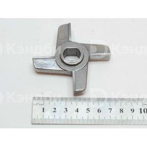 Нож двусторонний  МИМ-300, ТМ-32 с буртом (легирование хромом)