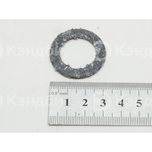 Прокладка фланца ТЭНов теплового оборудования (М20 1/2, 33x21x2 мм)