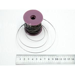Лента нихромовая запайщика (0.2x2.0 мм, Х20Н80, 2.75 Ом/м)