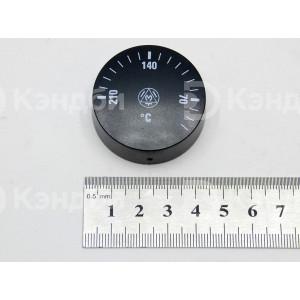 Ручка термостата IMIT (черная, диаметр 42 мм, 0-210 градусов)