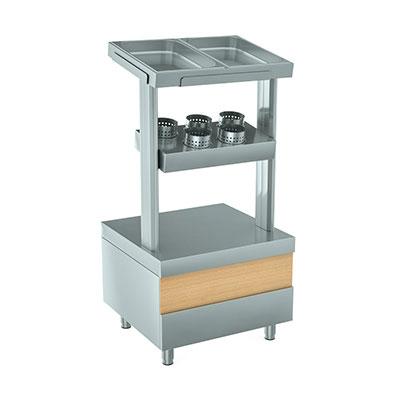 Стойки для столовых приборов и подносов