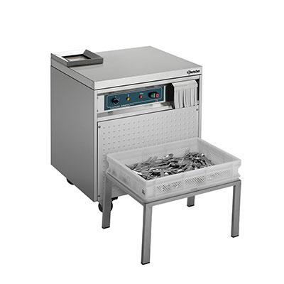 Машины для сушки и полировки столовых приборов
